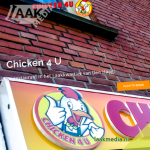 Laak Media - Website: chicken4u.nl