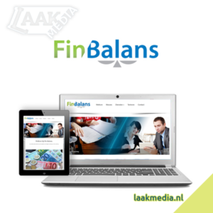 Laak Media - Website: finbalans.nl
